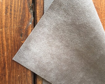 Ultra Suede for Beaded Embroidery - Executive Grey