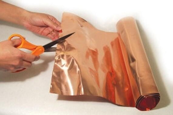 Copper Sheet 36 Gauge 12 In X 30 In Roll By Harrachglass