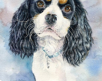 Custom Pet Portrait, Painting, Gift, Birthday, Mother's Day, Wall Art, Gift Idea, For Him, For Her,  Mother, Wife, Girlfriend, Husband, Mom
