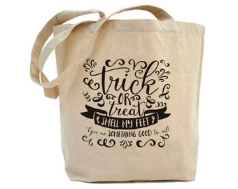 Halloween- Smell my Feet - Tote Bag