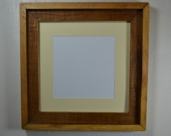 Photo frame 12x12 with off white mat for 10x10 or 8x8 photo or print.
