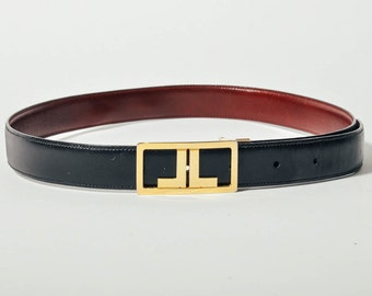 Reversible Lanvin Leather Belt