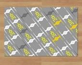 Floor mat, Star Wars Floor Mat, 24x36 floor mat, tie fighters mat, welcome mat