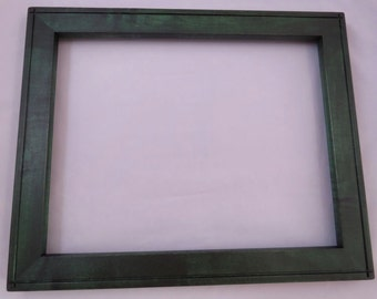 11x14 Maple with Light Curl Green Dye Picture Frame 3