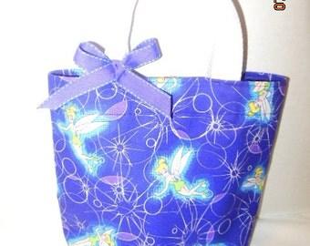 Tinkerbell Tote/Gift Bag/Easter Basket