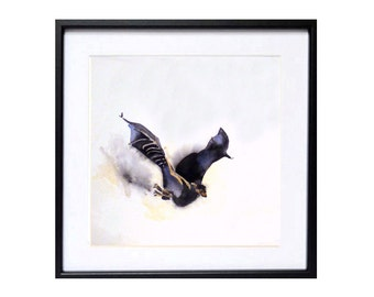 Bat Art Prints | Bat Drawings | Bat Illustrations | Bat Painting | LaBerge |