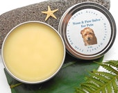 Salve for Pets - Nose and Paw Salve, Pet Salve, Paws, Dogs, Cats, Animal Care, Handmade Salve