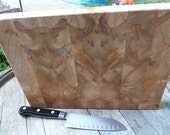 End Grain Red Maple