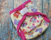 Two Step Cloth Diaper Cover Butterflies