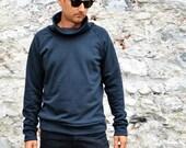 organic cotton sweatshirt for men, men's sweatshirt, men's clothing