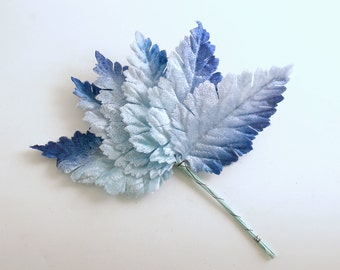Vintage Ombre Leaf Picks Corsage Stems