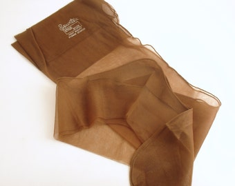 Vintage Pair Stockings Nylons Spuntex Original Box Large