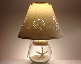 small fillable seashell lampsmall lampadd your