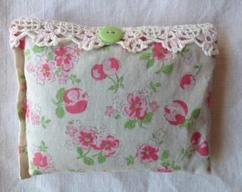 Lovely lavender filled sachet/pillow