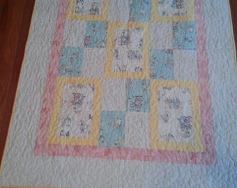 Humpty Dumpty and Friends Baby Quilt