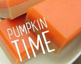 Fall Gift. Pumpkin Soap. PUMPKIN PIE SUGAR Bar Soap. Pumpkin Spice Soap. Women Gift. Pumpkin season. exfoliating sugar scrub soap