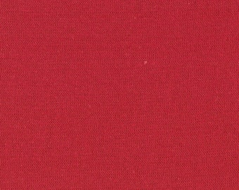 RED RIBBING,1x1 Cotton Lycra blend, Fat Eighth, 9 x 22 inches