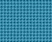 50% OFF Roundup Cowboy Houndstooth Blue - 1/2 Yard