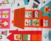 Hello Friends fabric - REDUCED