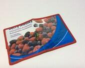 Berry Love Fused Plastic Bifold Wallet