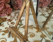 Italian Florentine Gold Picture Holder Easel