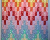 SIMPLIFY a Bargello 1930's Quilt from Quilts by Elena Reproduction Fabrics