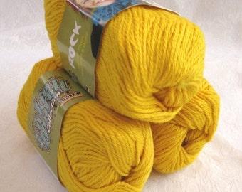 50% off - Golden Wool Soysilk Hemp blend yarn,  SWTC ROCK yarn,  Jeremy, worsted weight yarn