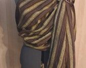 Striped Linen Sling