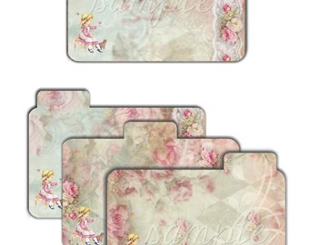 INSTANT DOWNLOAD - 3.5 x 5 inch Printable Dividers 3 - High quality Collage Sheet - Printable Download - Scrapbook