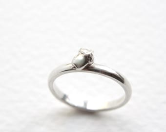 Acorn Ring, Sterling Silver, Autumn Ring, Handmade in Brighton, uk