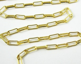 Yellow Gold Chain,22K Gold Plated Sterling Silver Bulk Chain,Long Box Chain-7mm (Up to 30% off )Jewelry Supplies Wholesale SKU: 101002-VM