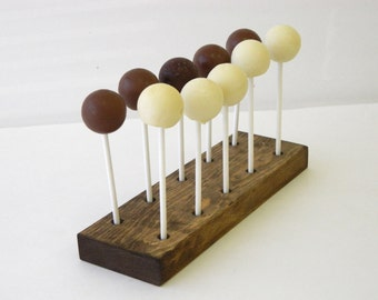 Cake Pop Stand, Lollipop Stand, Rustic Cake Pop Stand (Holds 10 cake pops)