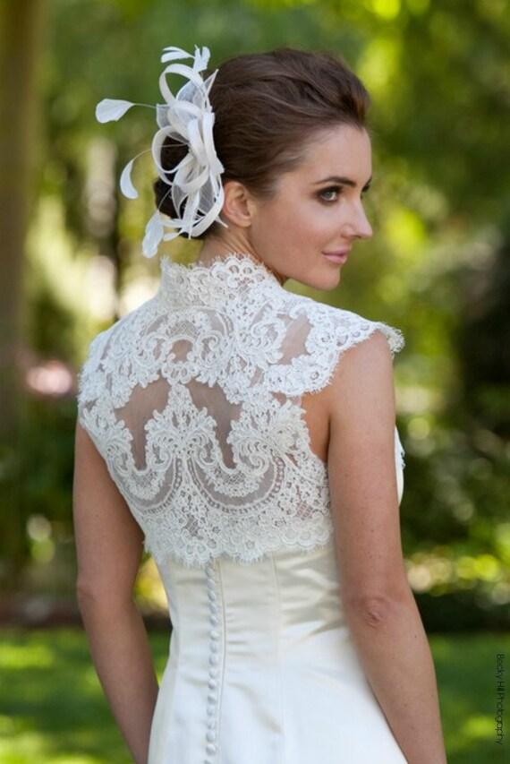 Plus Size Lace Bridal Topper Plus Size Lace Topper Plus