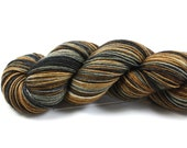 Earl Grey--hand dyed sock yarn, BFL and nylon, (464yds/100gm)