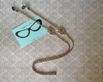 owl eyeglasses chain