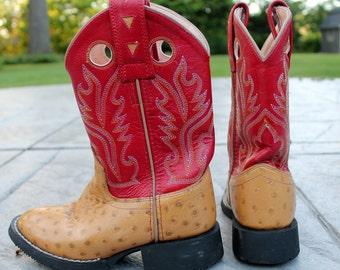 Childrens Size 3 Cowboy Boots