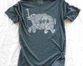Subelephant - dusty blue mens crew neck