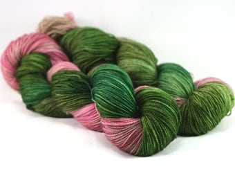Variegated Sock Yarn - Postcard - Girl Scout Camp