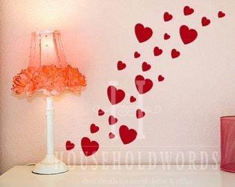 Removable Vinyl Wall Decals Words For Home By HouseHoldWords - Removable vinyl wall decals for home decor