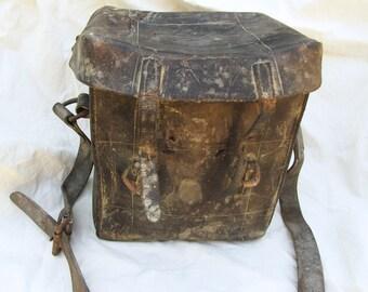 Large vintage Leather case