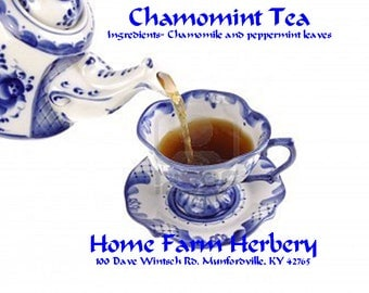 Chamomint Tea Utterly relaxing Order now