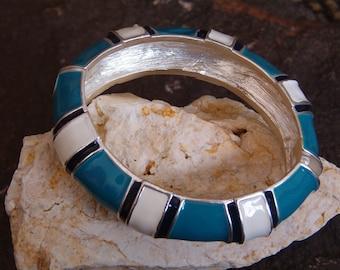 Bracelet, Vintage 80's Cuff Bracelet