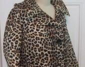 Vintage 1960's Leopard Coat