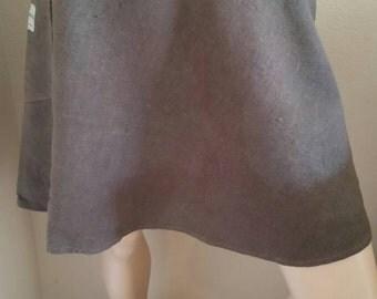 "Hermans Herman Earth Brown skirt W 29"" 100% hemp made in USA hand dyed"