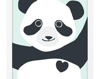 Panda Poster A3