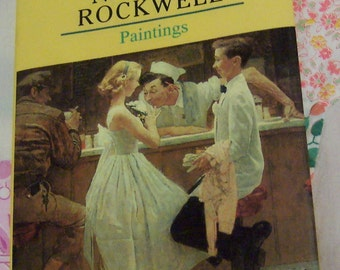 norman rockwell paintings book