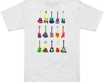 Kid's & toddler's litteral Guitar Heroes graphic T-shirt