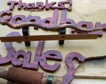 Basilisk Annihilator  Custom Basilisk Spine with Leather Wrap 12 3/8 inches