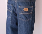 Vintage boys jeans by health tex new old stock denim Our Gang
