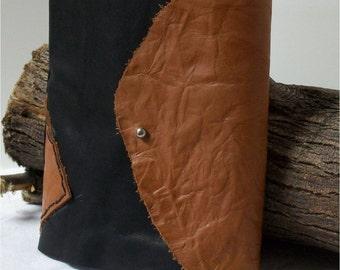 Handmade 2 Signature Leather Journal, Diary, Art, Writing, Travel 7X 6.5
